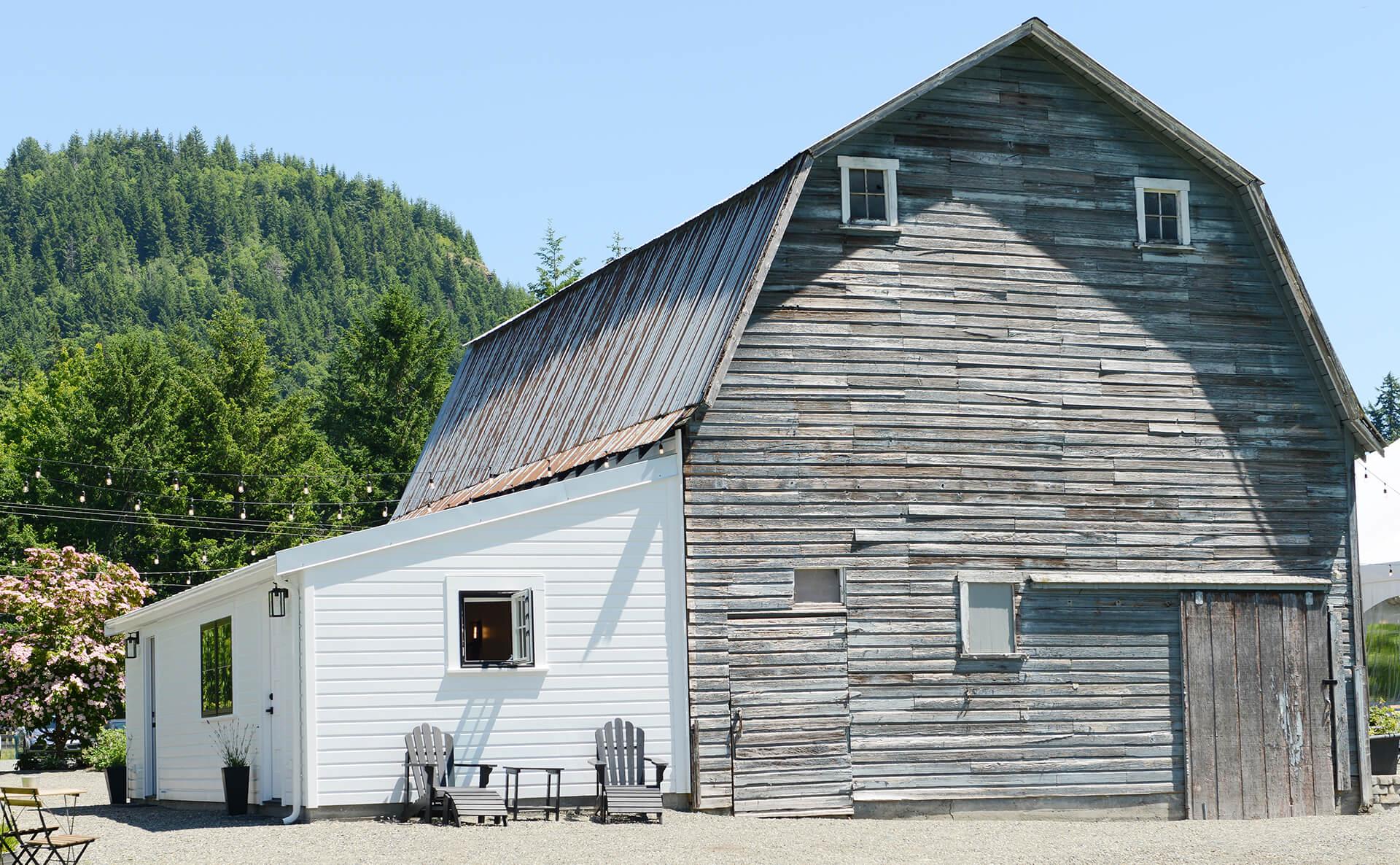 Grooms quarters exterior